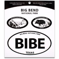 Big Bend NP Triple Decal