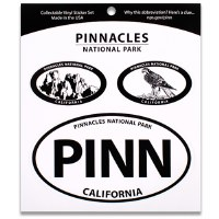 Pinnacles NP Triple Decal