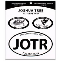 Joshua Tree NP Triple Decal