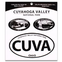 Cuyahoga Valley NP Triple Decal