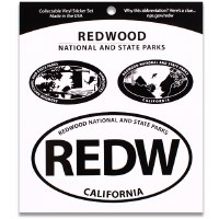 Redwood National and State Parks Triple Decal