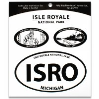 Isle Royale NP Triple Decal