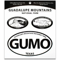 Guadalupe Mountains NP Triple Decal