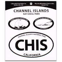 Channel Islands NP Triple Decal