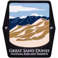 Great Sand Dunes NP Trekking Pole Decal