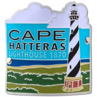 Cape Hatteras Lighthouse Hiking Medallion