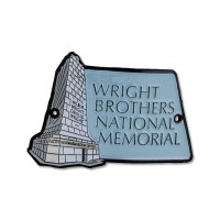 Wright Brothers Memorial Hiking Medallion