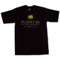 Flight 93 Tree Tee Black