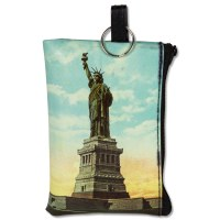 Statue of Liberty Zip Pouch
