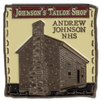 Andrew Johnson Tailor Shop Pin
