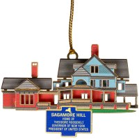 Sagamore Hill 3D Ornament