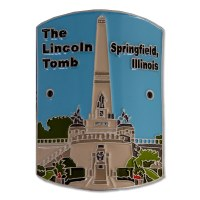 The Lincoln Tomb Hiking Medallion