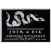 Join or Die Saratoga Magnet