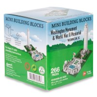 Washington Monument & WWII Memorial Mini Blocks
