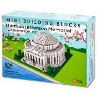 Jefferson Memorial Mini Blocks