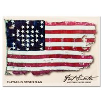 Fort Sumter National Storm Flag Magnet
