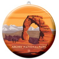 Arches Suncatcher Ornament