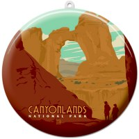 Canyonlands Suncatcher Ornament
