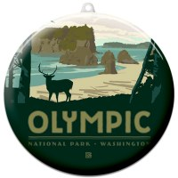 Olympic Suncatcher Ornament