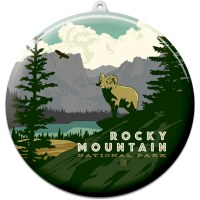 Rocky Mountain Suncatcher Ornament