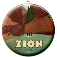 Zion Suncatcher Ornament