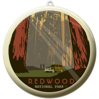Redwood Suncatcher Ornament
