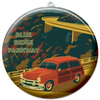Blue Ridge Parkway Suncatcher Ornament