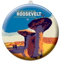 Theodore Roosevelt Suncatcher Ornament