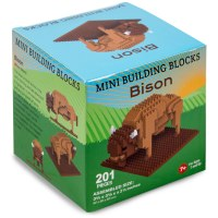 American Bison Mini Blocks
