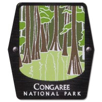 Congaree Trekking Pole Decal