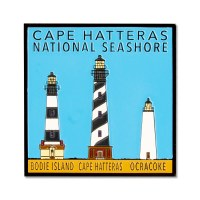 Lights of Cape Hatteras National Seashore Magnet