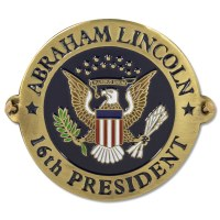 President Lincoln Seal Hiking Medallion