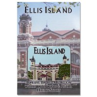 Ellis Island Hiking Medallion