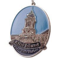 Ellis Island Ornament