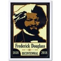 Frederick Douglass Bicentennial Magnet