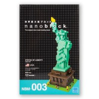 Statue Of Liberty Nano Blocks
