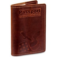 Passport To Your National Parks® Classic Leather Cover