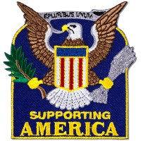 Supporting America Patch