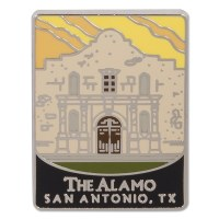 Traveler Series The Alamo Pin