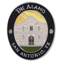 Traveler Series The Alamo Hiking Medallion