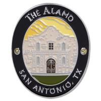 Traveler Series The Alamo Hiking Medallion