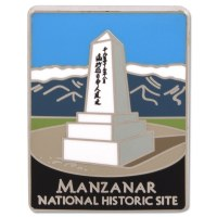 Traveler's Series Manzanar Pin