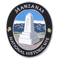 Traveler's Series Manzanar Hiking Medallion