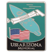 Traveler Series USS Arizona Pin