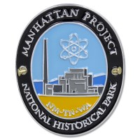 Manhattan Project Hiking Medallion