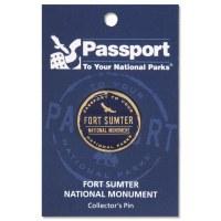 Fort Sumter Passport Pin