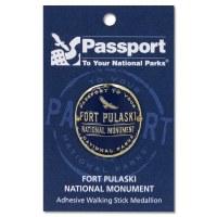 Fort Pulaski Passport Hiking Medallion
