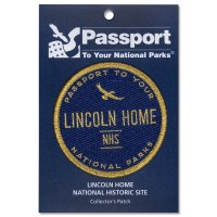 Lincoln Home Passport Patch