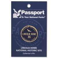 Lincoln Home Passport Pin