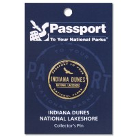 Indiana Dunes Passport Pin